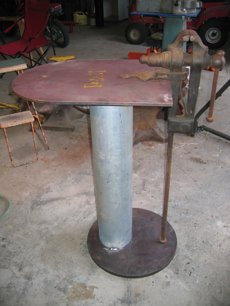 Leg Vice Stand Members Gallery I Forge Iron