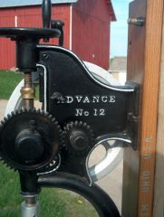 Silver  Mfg. Co. Advance No. 12 Post Drill