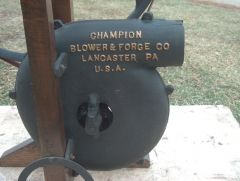 Champion Blower & Forge Co. Blower