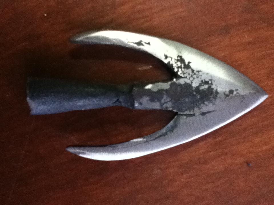 Swallowtail arrowhead