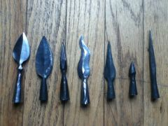 Historical and fantasy arrowheads