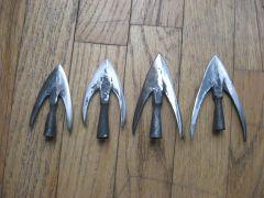 4 swallowtail arrowheads