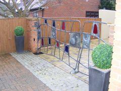 The Round House Gates