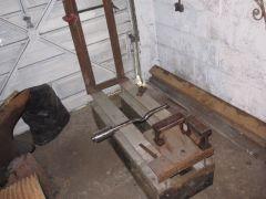 Helve Hammer in progress