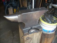 CNC Cut Anvil