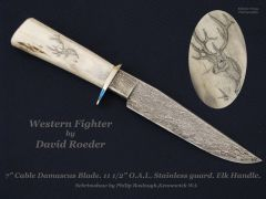 Cable Damascus (Western Fighter) by David Roeder