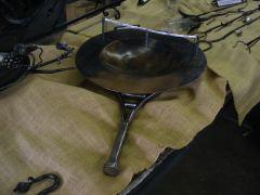 Serving pan