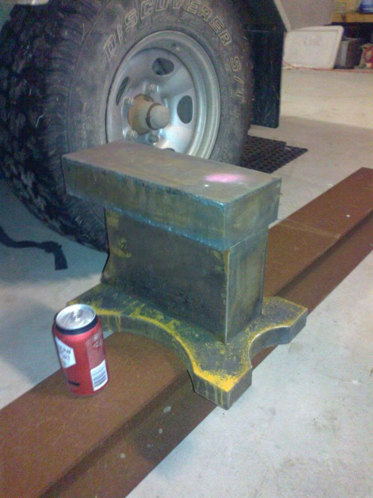 home made anvil