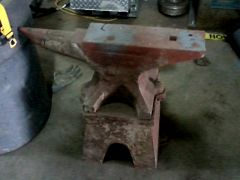 Anvil And Stand