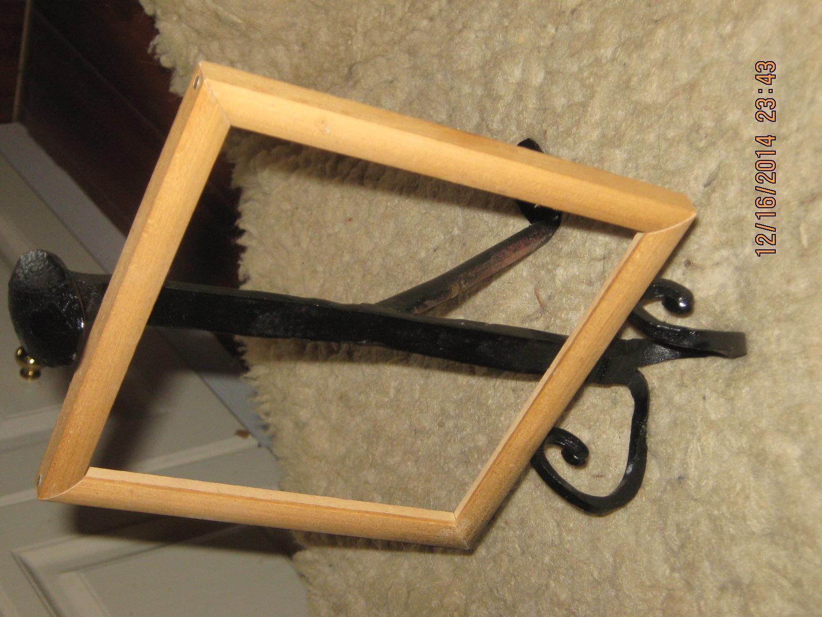 IMG 1083  RR Spike picture frame holder