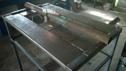forge table fabrication 4