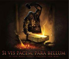 blacksmith image with latin phrase