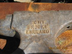"""IMG 0737  Stamped in the side   """"Brooks"""""""