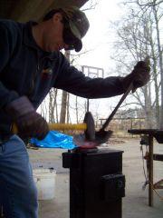 hammering sheet metal