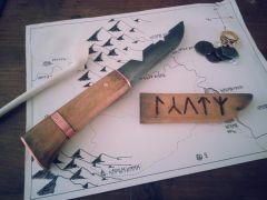 Custom Hobbit inspired Dwarven dagger