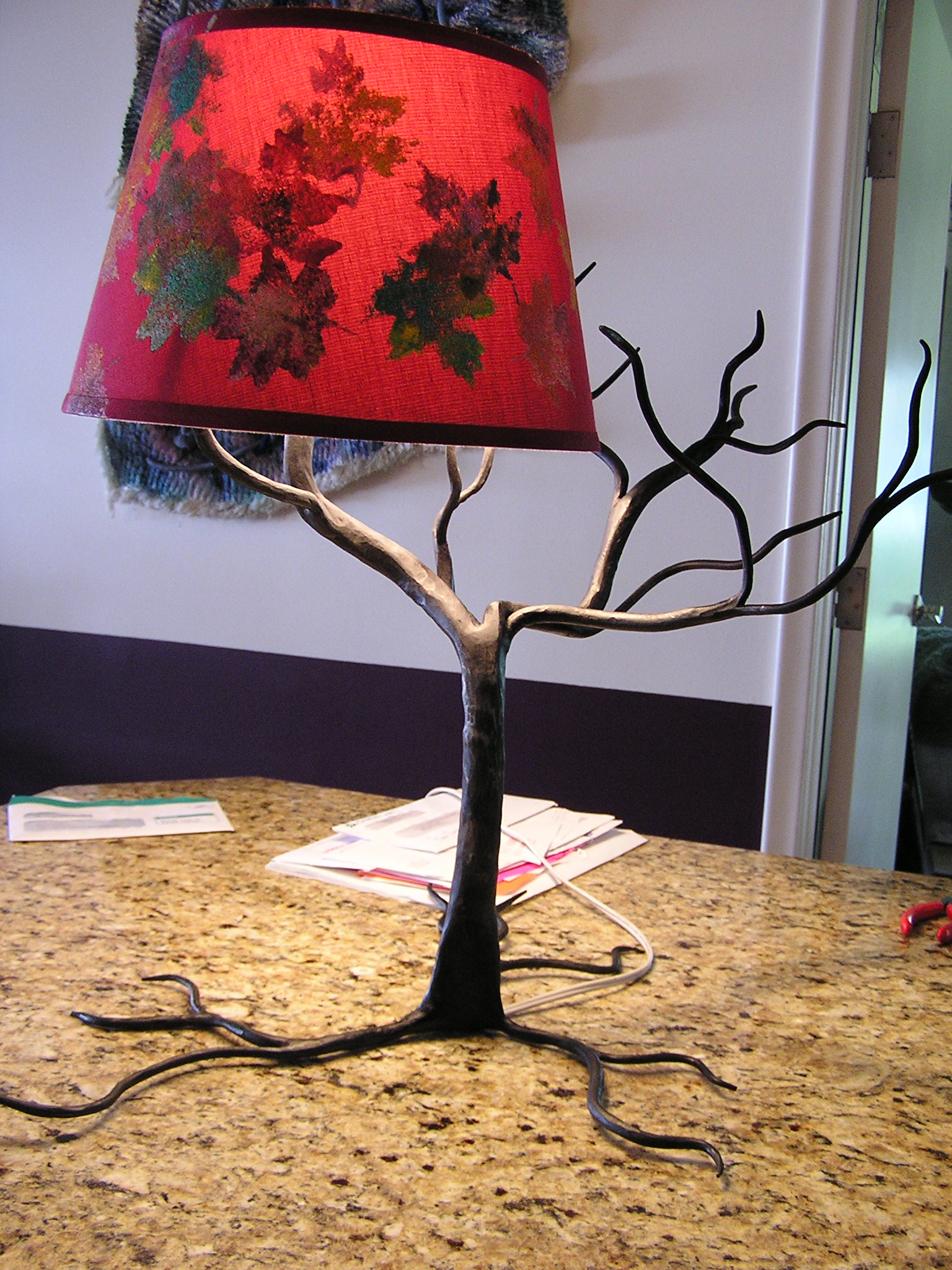 Completed Lamp