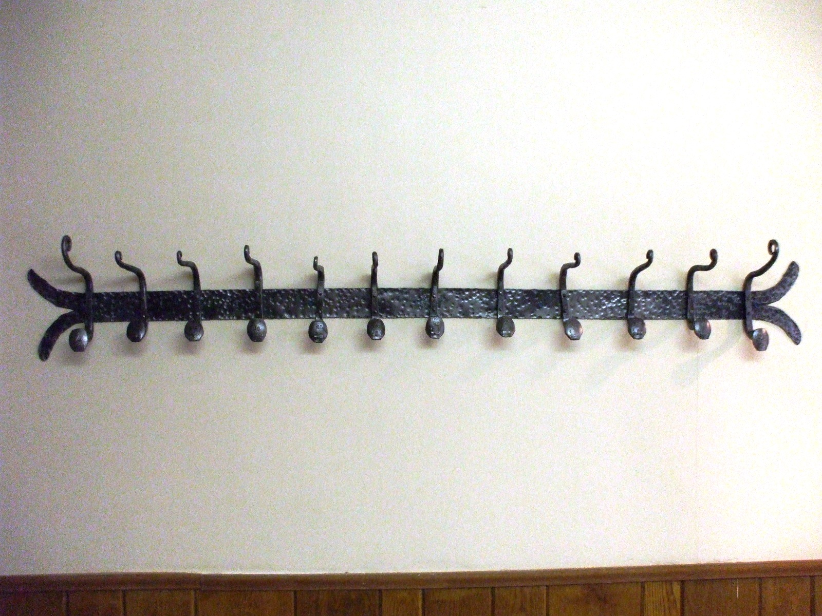Coat Rack on a Wall