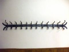 Coat Rack on a Wall