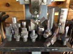 Derek's flypress tooling