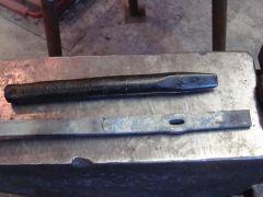 Flat 1/2-inch slitting chisel