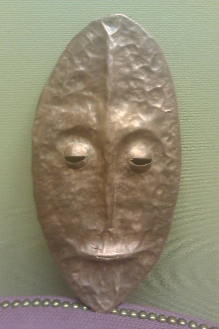 Middle school traditional African mask project