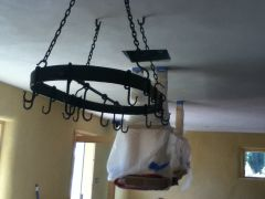 Hanging pot rack 2