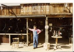 The Old Blacksmith Shop at Rawhide
