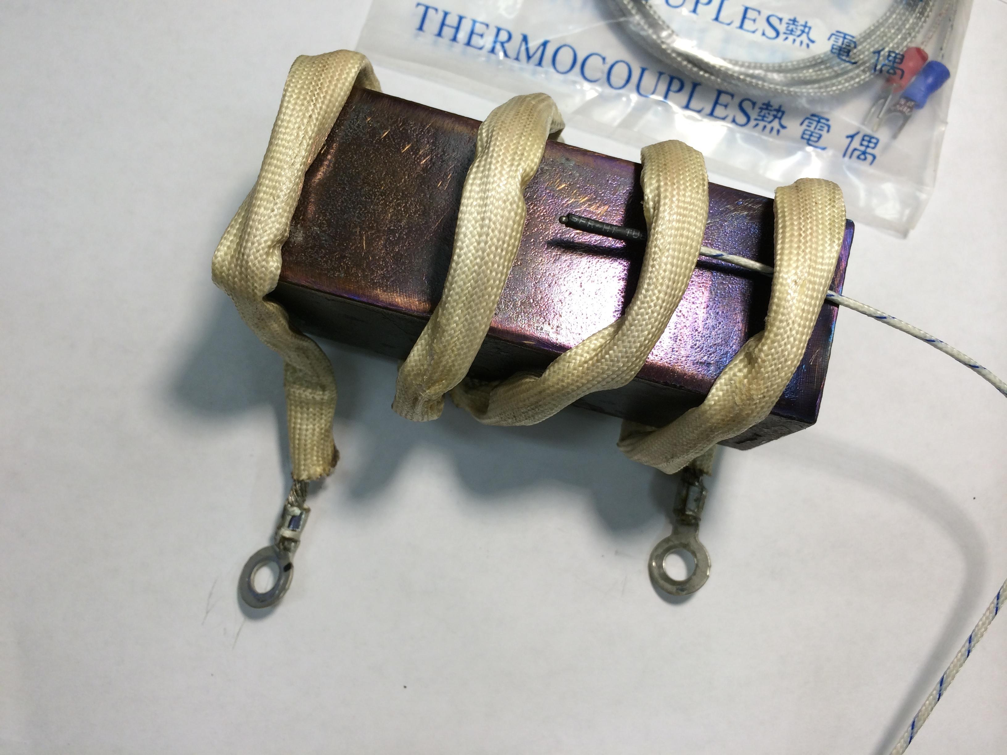Heat treat block example