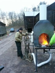 forge with New chimney