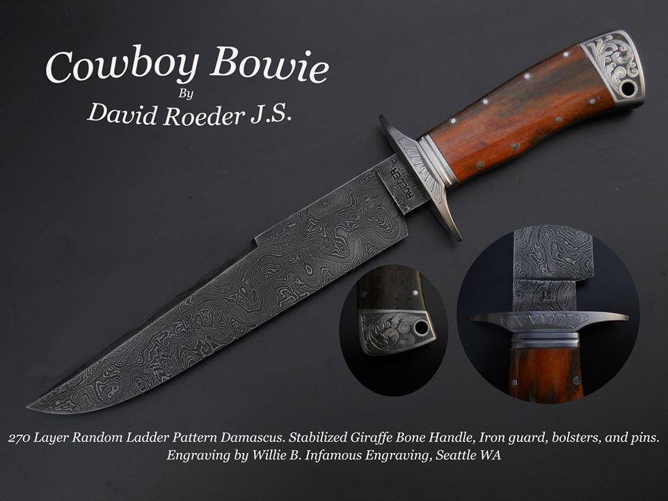 Cowboy Bowie by David Roeder