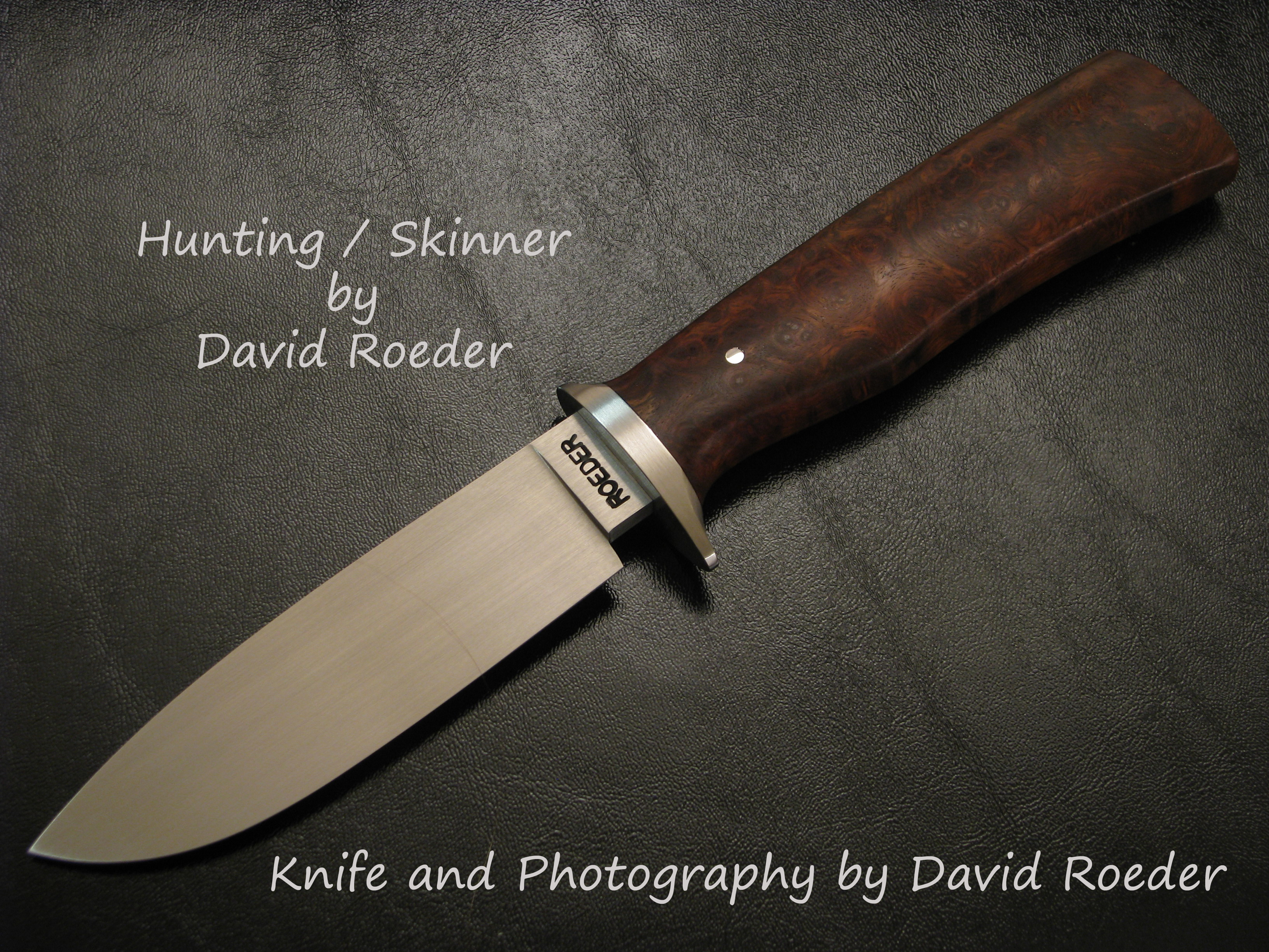 Hunter / Skinner by David Roeder