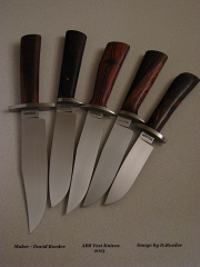 ABS JS Test Knives by David Roeder