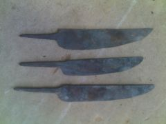 Three other knives I made afterwards