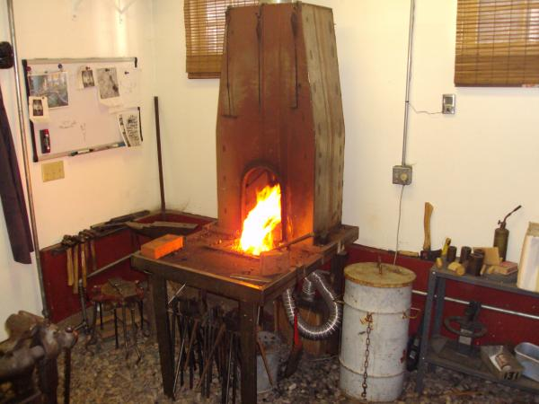 Side Blast Forge Solid Fuel Forges I Forge Iron