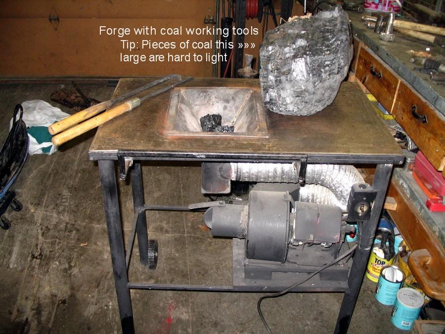 how to make a coal forge. forge 1.jpg how to make a coal c