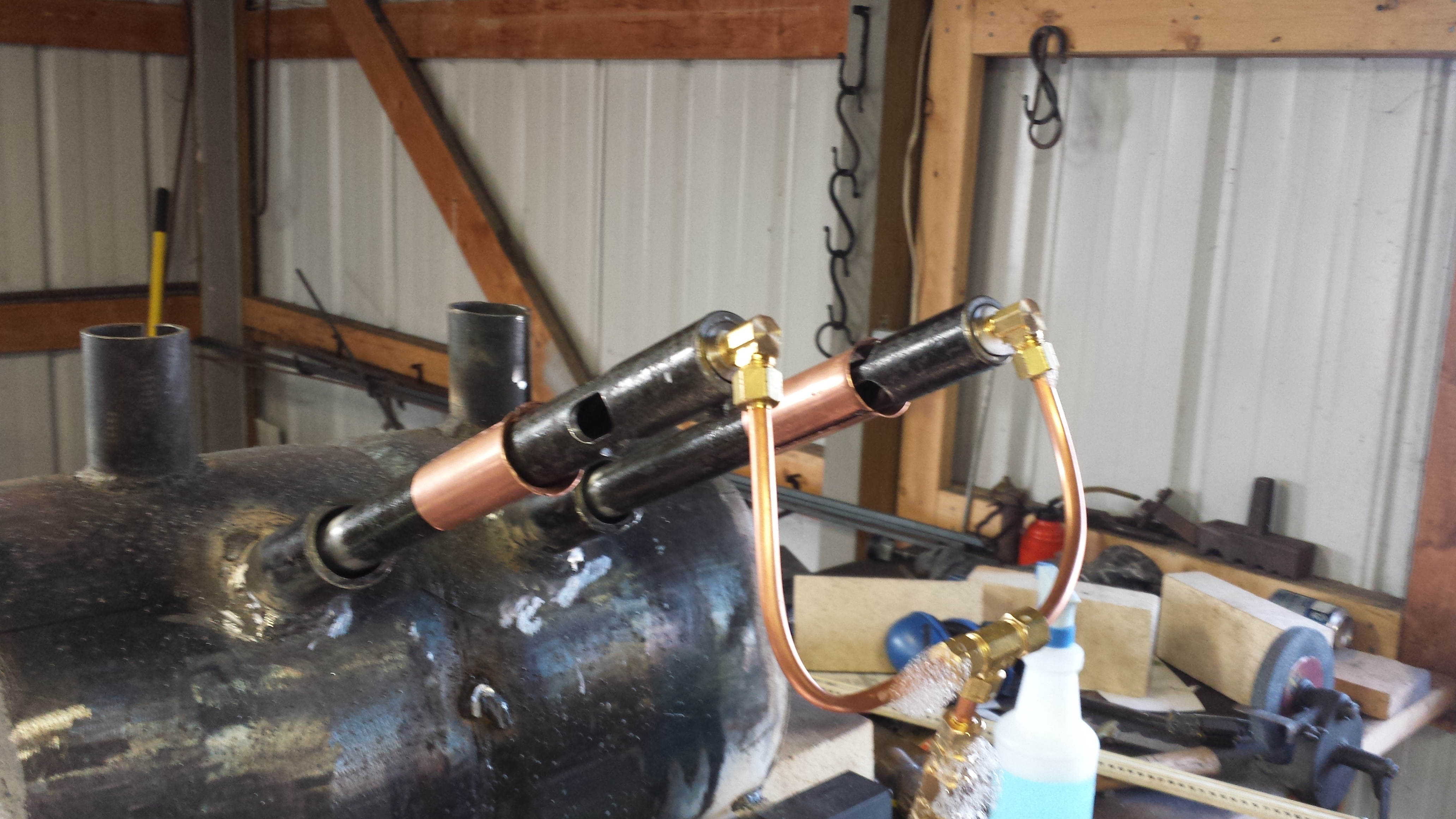 Propane Delivery Plumbing Gas Forges I Forge Iron
