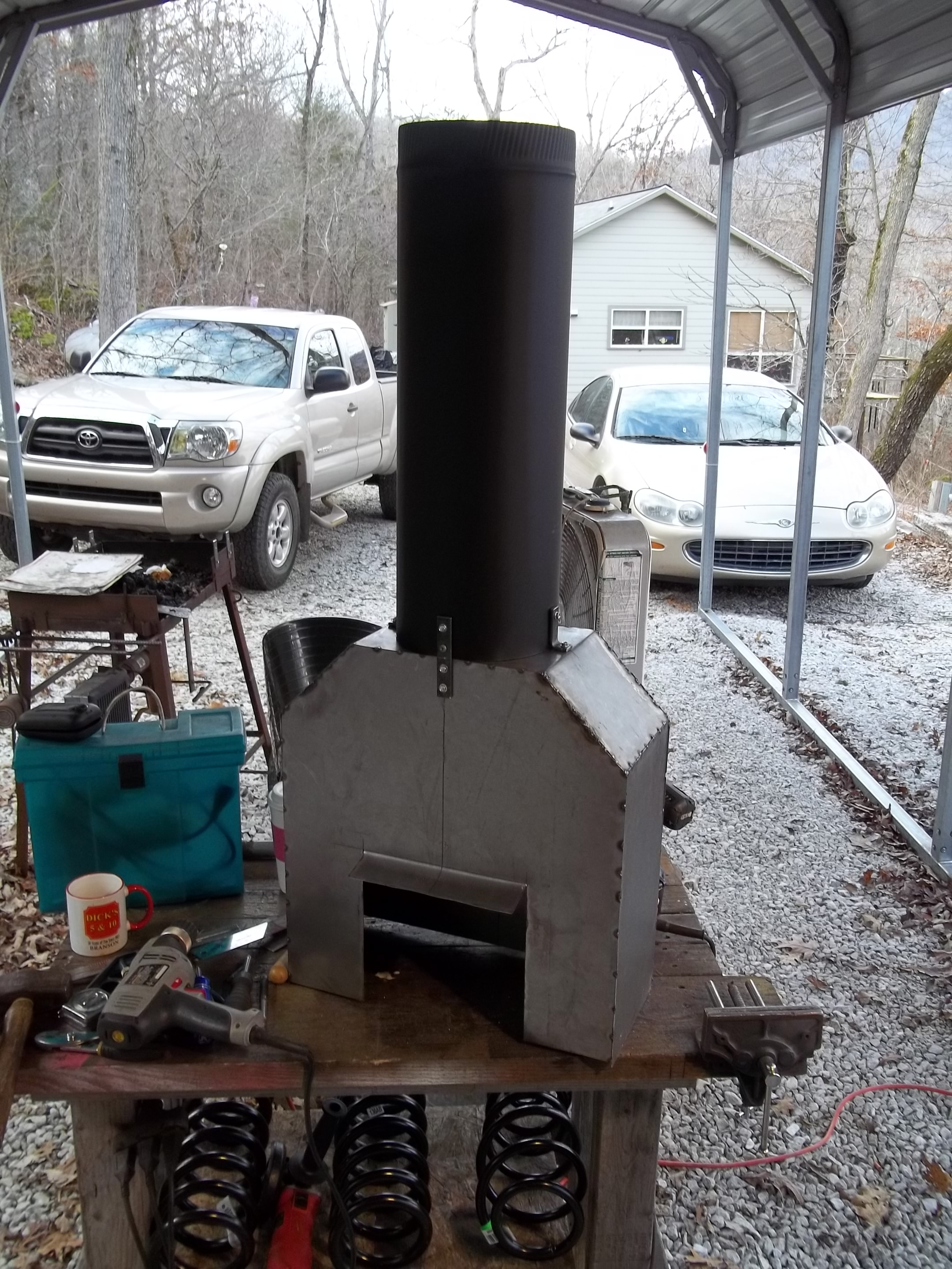 Break Drum Forge Will This Work Solid Fuel Forges I