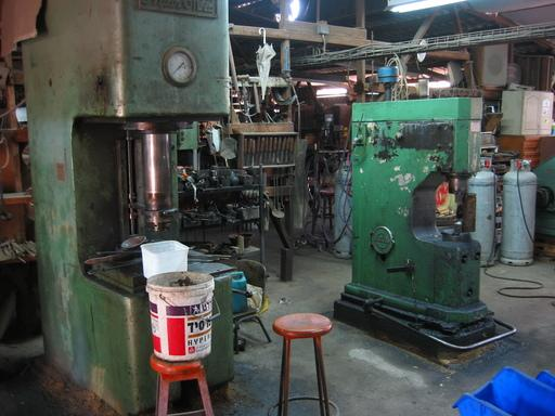 hydraulic press and sahinler hammers.jpg