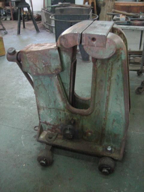 What S The Biggest Vise You Ve Seen Vises I Forge Iron