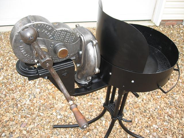 Champion 400 and Rivet forge - Solid Fuel Forges - I Forge Iron
