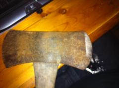 Just an axe I found