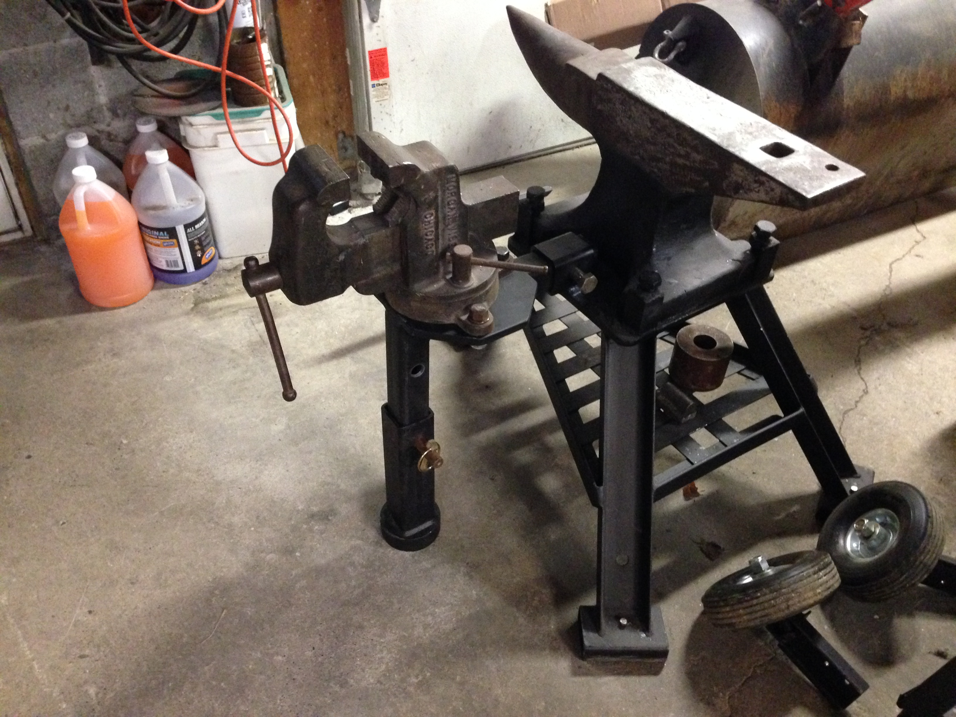 Removable Anvil Stand Vise Vises I Forge Iron