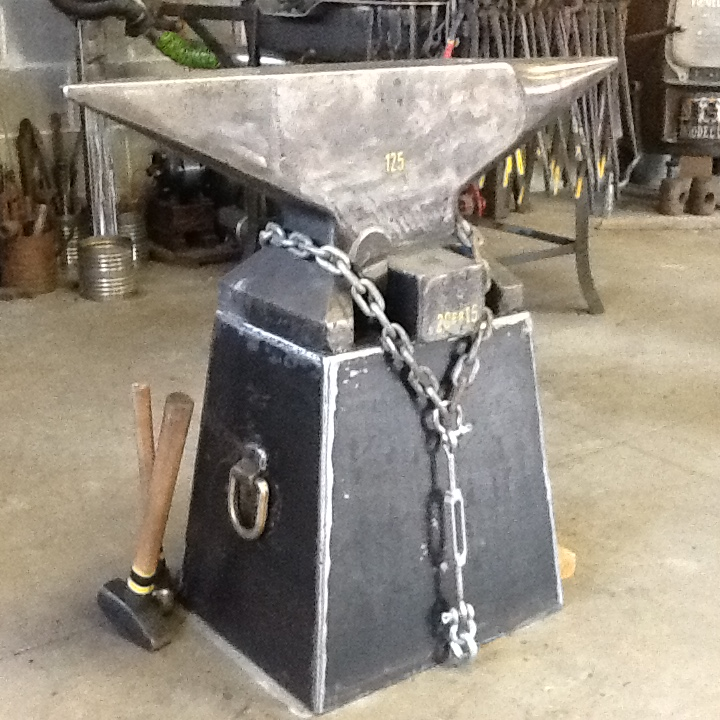 Rings On Your Anvil Stand Stands For Anvils Swage