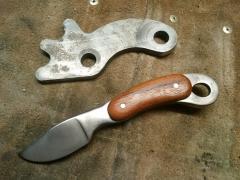 Scrap 4140 knife