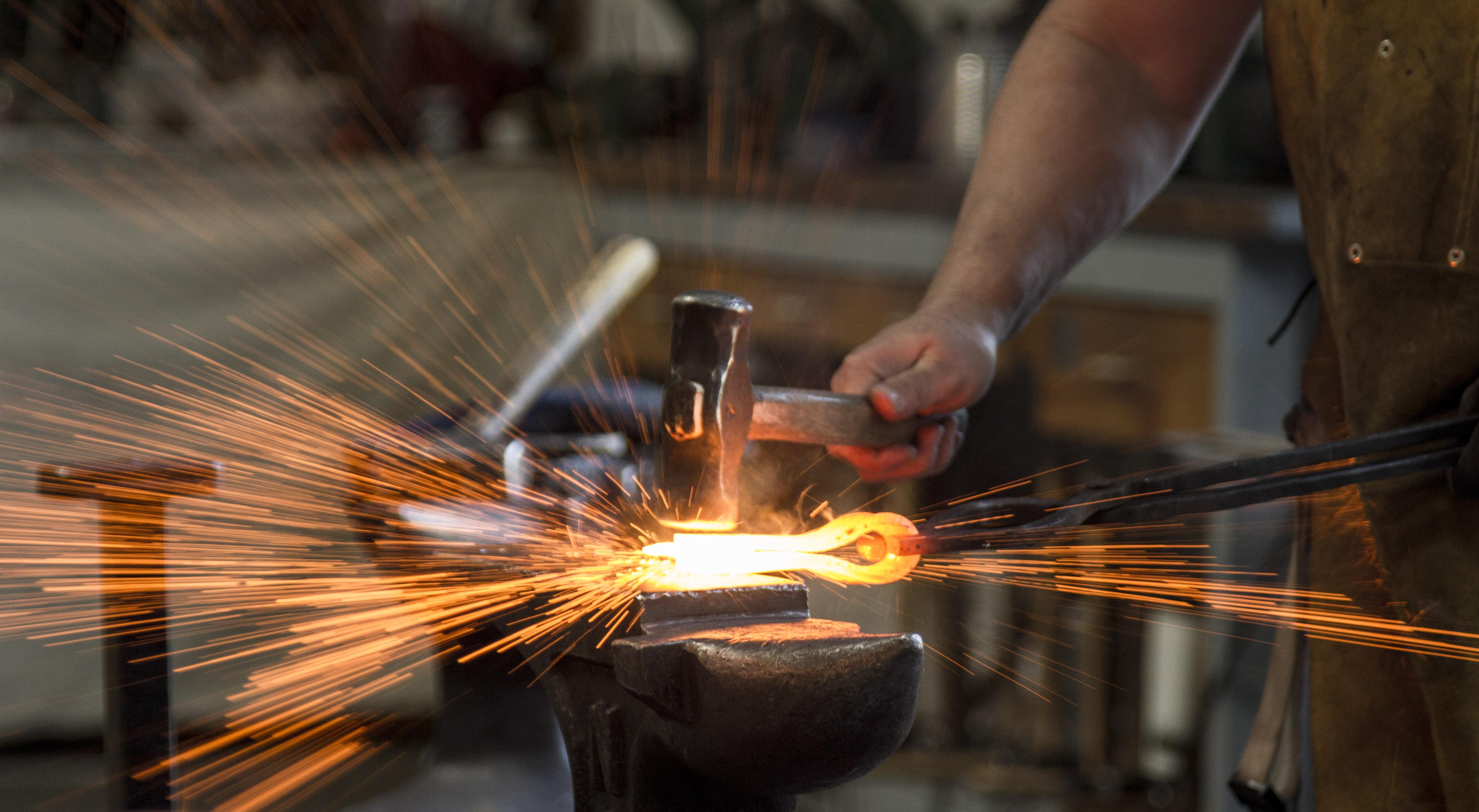 Forge welding my first axe head - Axes, Hatchets, Hawks ...