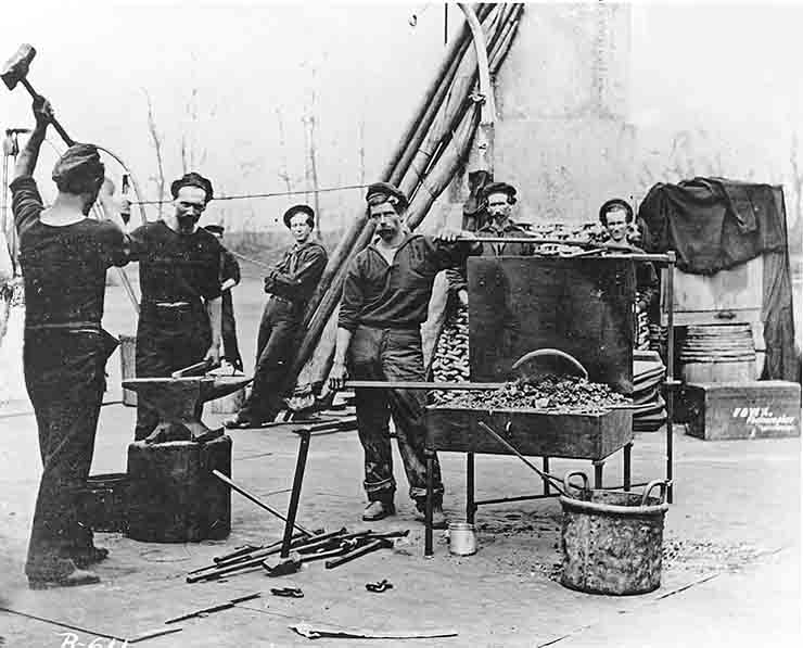 Navy Portable Forge on the Civil War Monitor Lehigh reduced for Internet.jpg