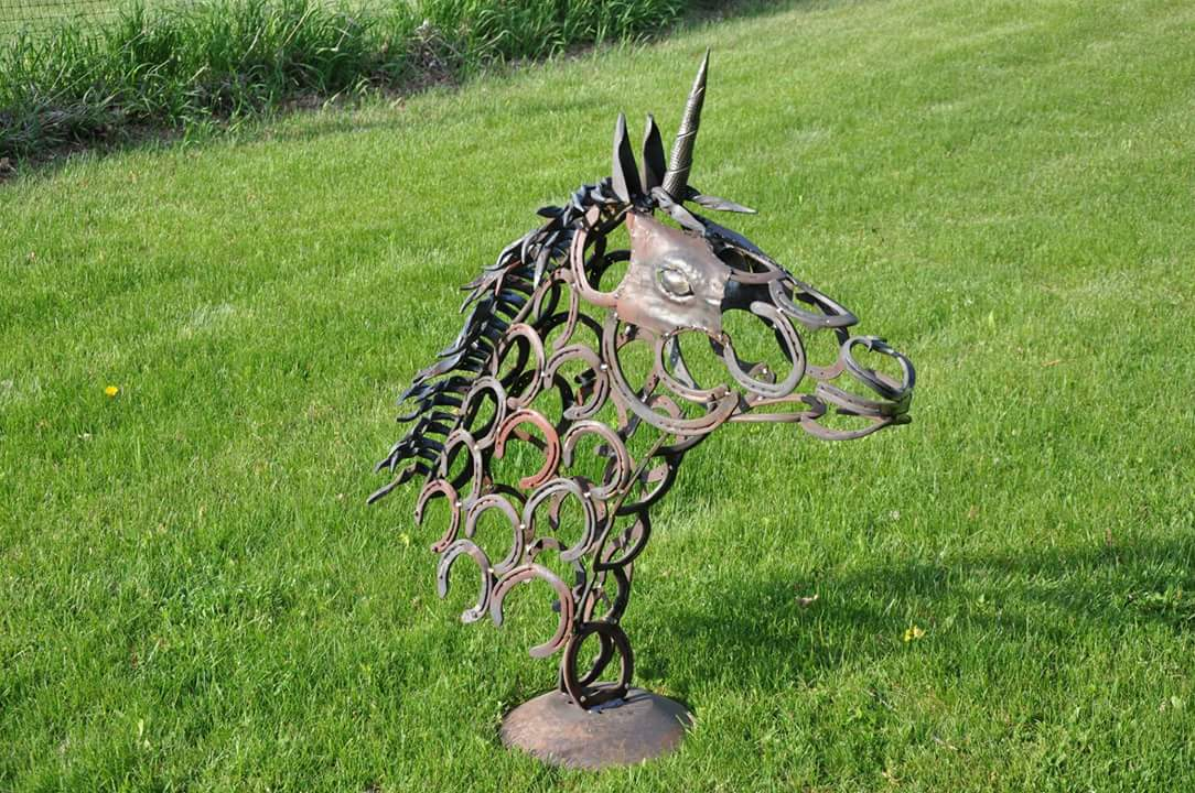 Unicorn Metal Sculpture Amp Carvings I Forge Iron