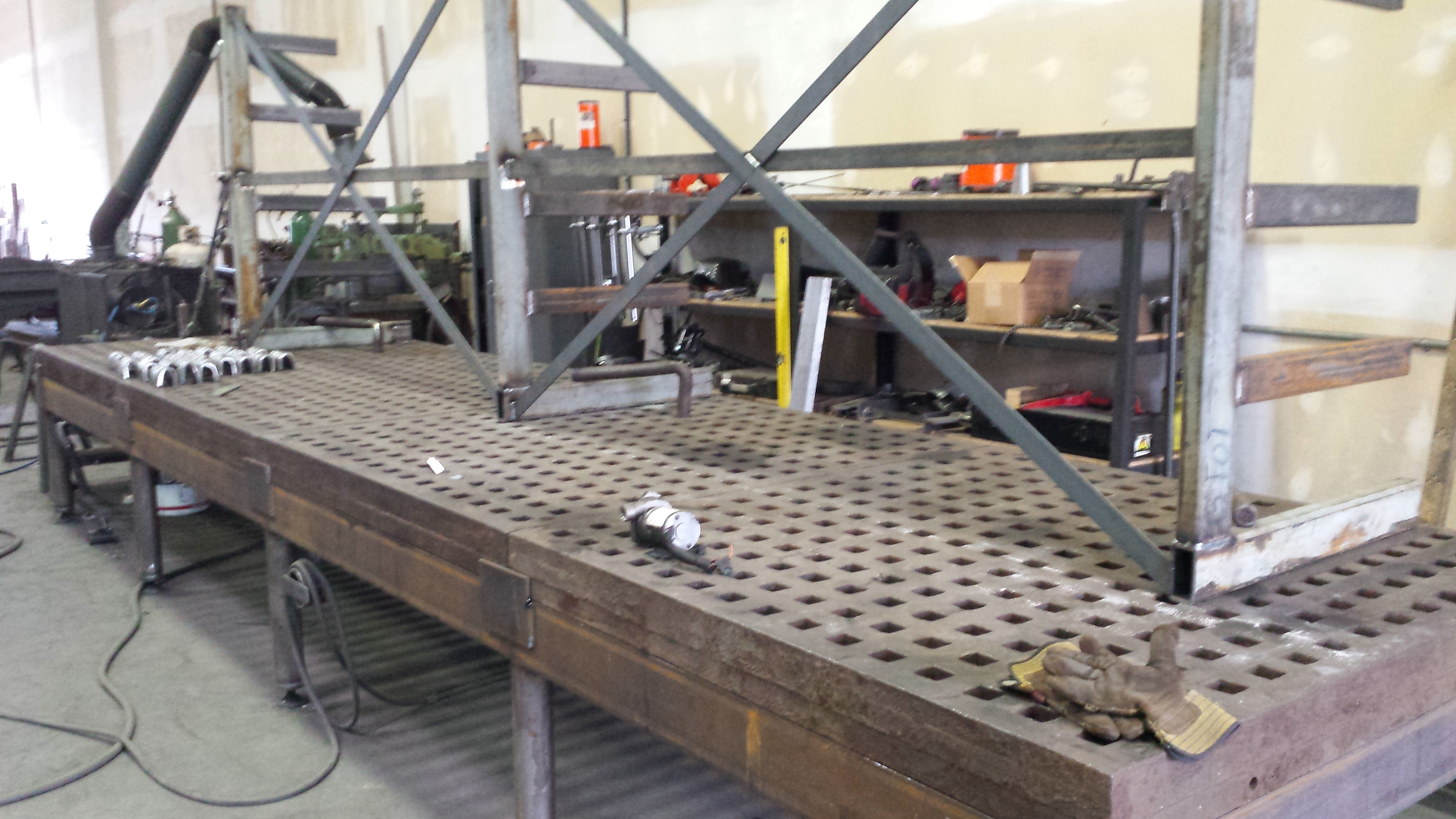 Anyone Built A Platen Table Tools General Discussion