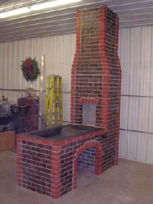 19th Century Brick Forge Build Solid Fuel Forges I
