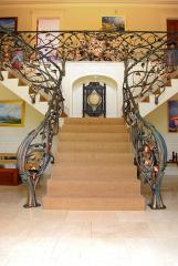 family tree balustrade by globalmetalart